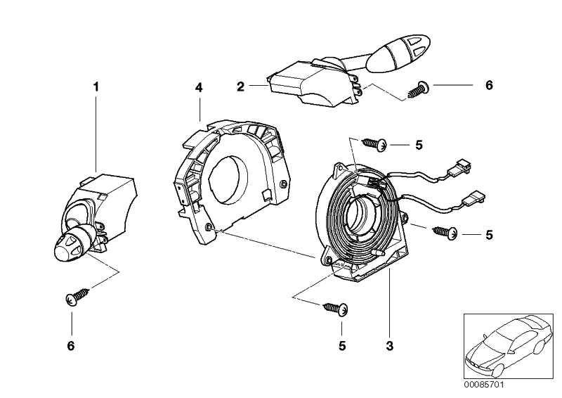 Schalter Blink-Abblend-Fernlicht  MINI  (61311484333)