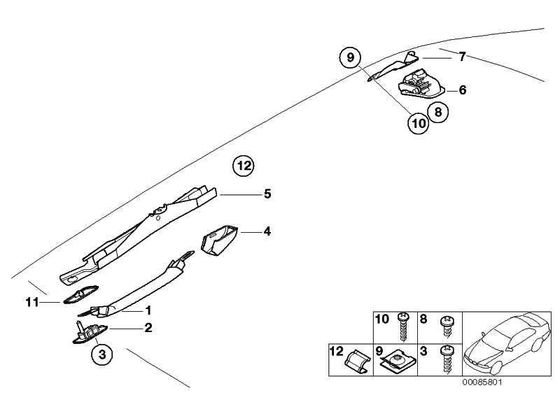 Rahmen SCHWARZ         3er  (51162699052)