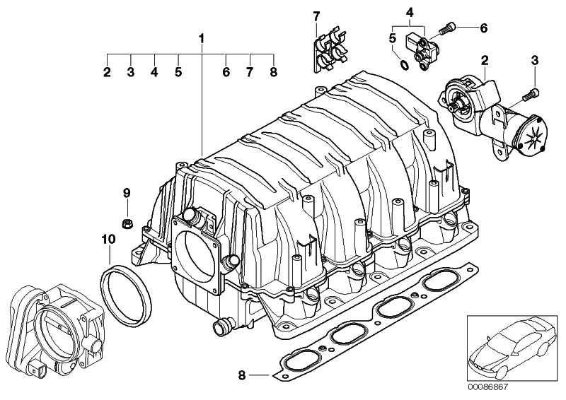 Sensor Differenzdruck  1er 3er 5er 6er 7er X1 X3 X5 Z4  (13627585278)