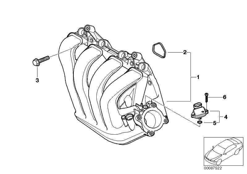 Saugrohrdruckfühler  MINI  (12140872648)