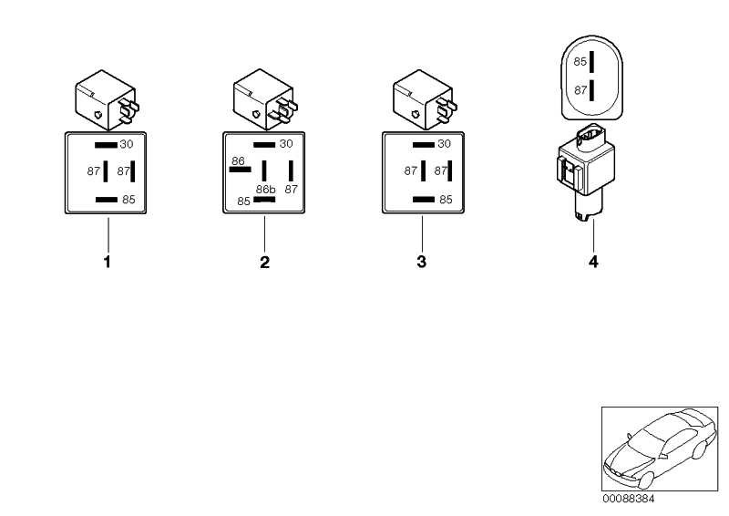 Relais Ventilsteuerung Valvetronic  3er  (12637506449)