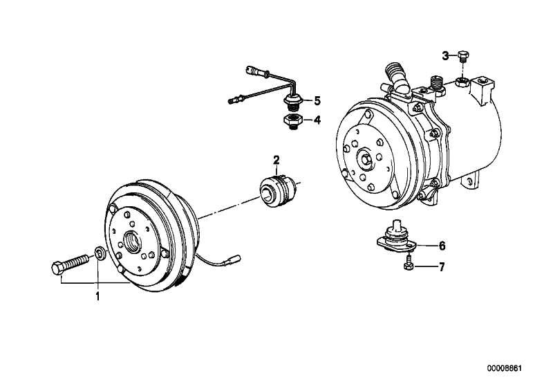 Magnetkupplung  5er 7er 8er  (64528350058)