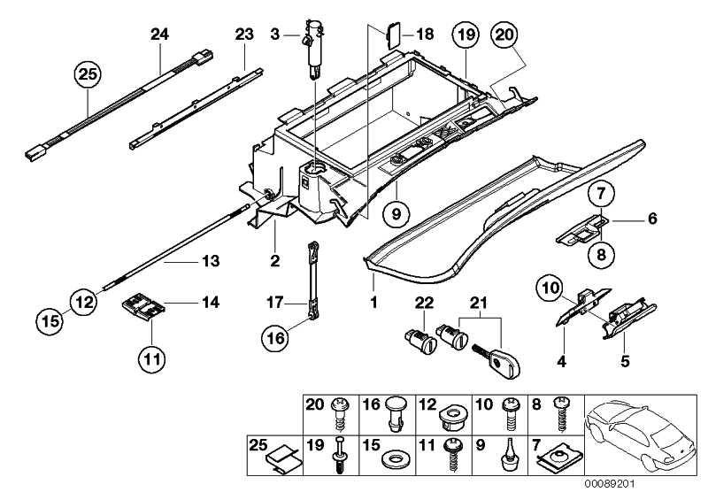 Blindplatte Handlampe  3er 5er 6er X3 MINI  (51168161589)