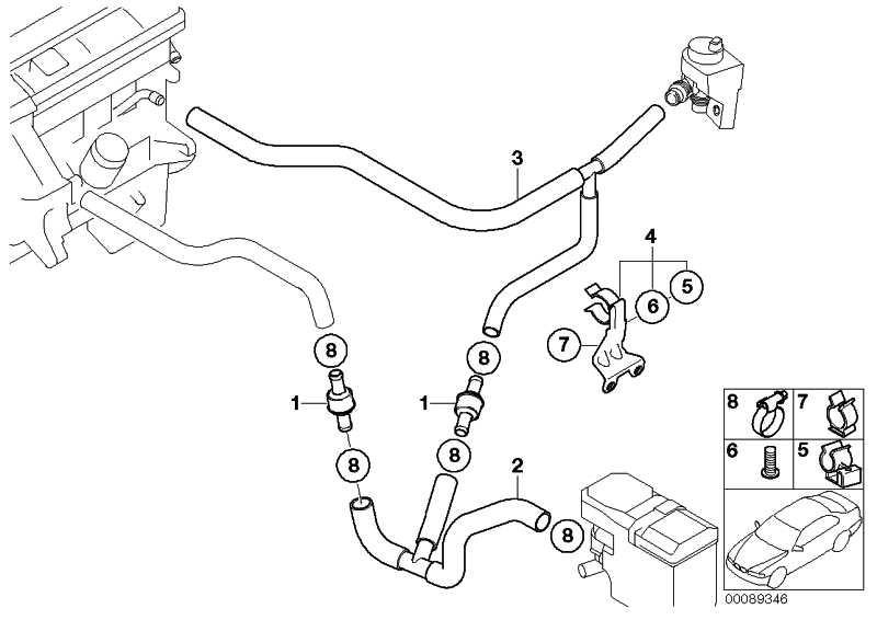 Schlauch Motorvorlauf-Standheizgerät  X5  (64218381225)