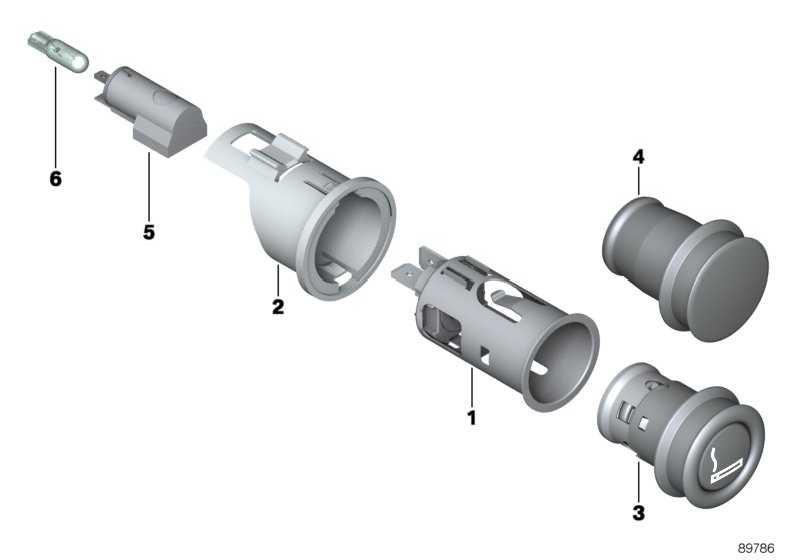 Lampenfassung  5er X3 MINI  (61346915065)
