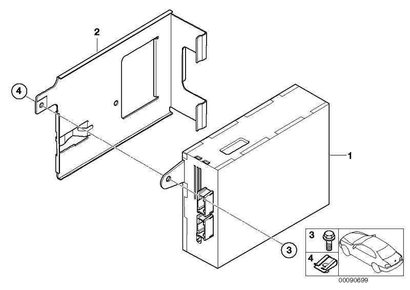 Austausch Videomodul high uncodiert  3er X3 X5 Z4  (65509147139)