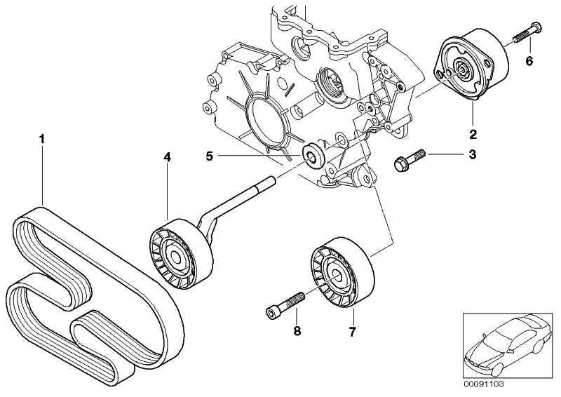 Zylinderschraube M8X35-10.9      1er 3er 5er 6er 7er X3 X5 X6  (07119905409)