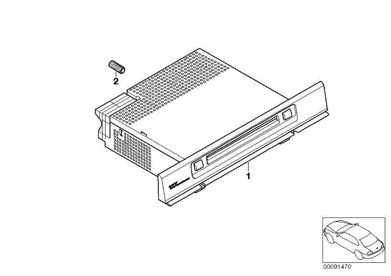 Radio BMW Professional CD  5er X5  (65126943456)