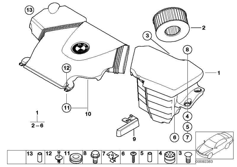 Sechskantschraube mit Scheibe M6X35-U2-8.8 3er 5er 6er X3 Z8  (07119903001)