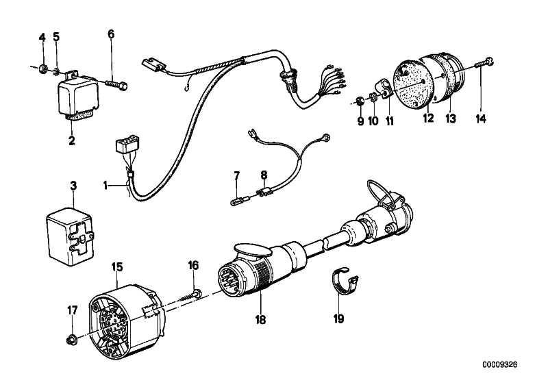Adapter  1er 3er 5er 6er 7er 8er X1 X3 X5 MINI  (61131382153)