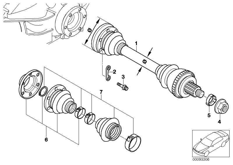 Unterlegblech D=8MM      ZNS3 1er 3er 5er X1 X3 Z3 Z4  (33207522163)