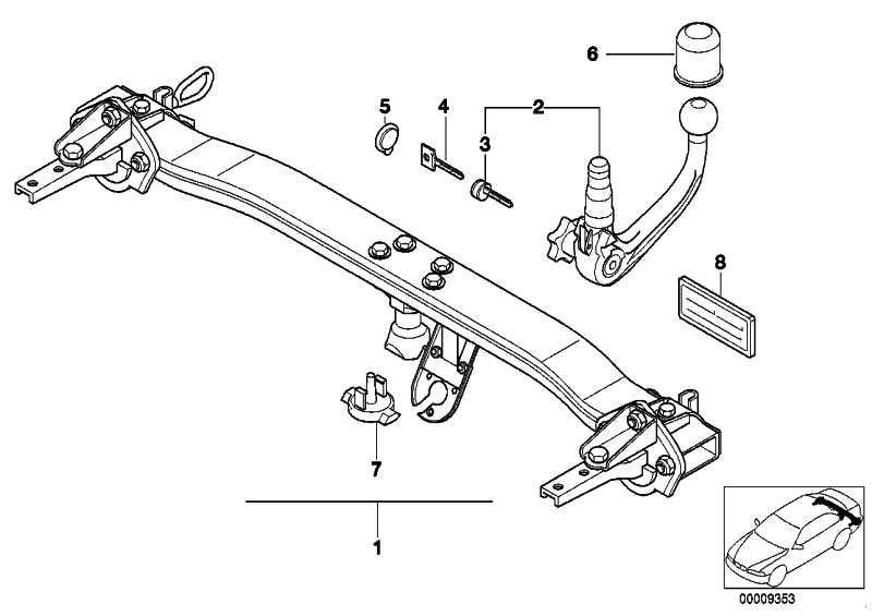 Anhängerkupplung abnehmbar  5er  (71606768848)