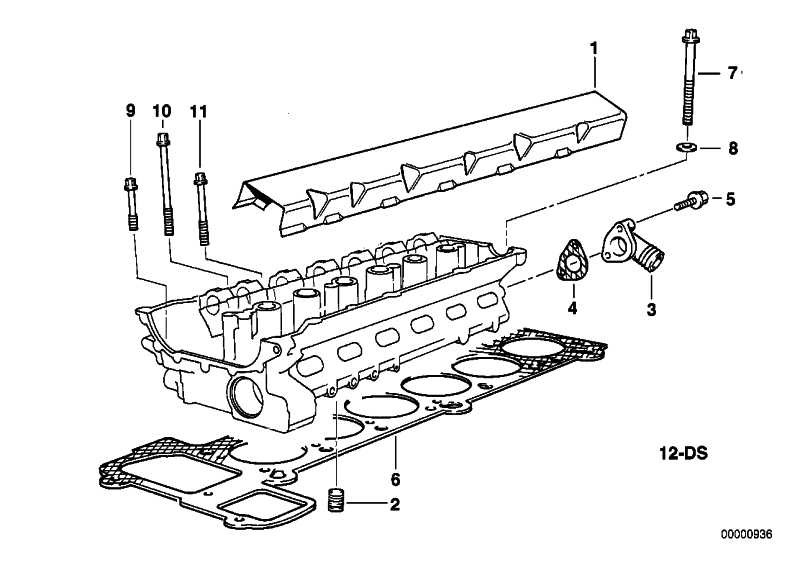 Satz Schrauben f. Zylinderkopf M10X110 3er 5er 7er X3 X5 Z3 Z4  (11121740065)