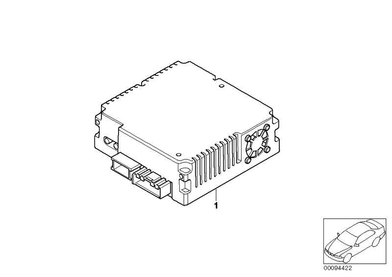Videomodul FBAS            3er 5er 6er 7er X5 X6 MINI  (65509179581)