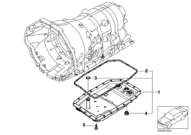 Satz Ölwanne Ölfilter Automatikgetriebe VALUE LINE 1er 3er 5er 6er 7er X1 X3 X5 X6 Z4  (24152333907)