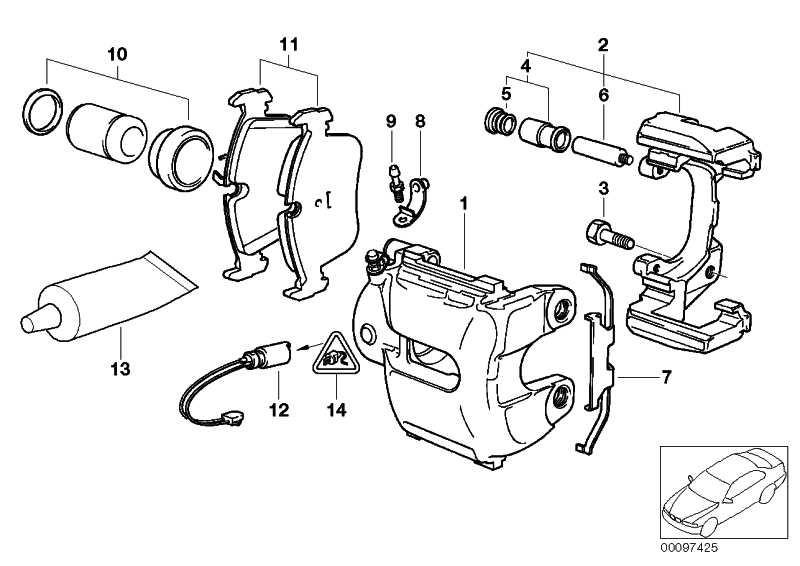 Universal-Buchsengehäuse uncodiert 2 POL.          1er 3er 5er 6er 7er X1 X5 MINI  (61131392246)