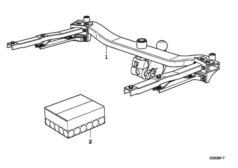 Abdeckung Anhängerkupplung  Z3  (51122217961)
