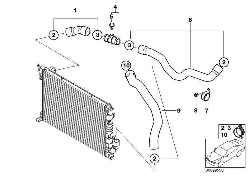 Kühlmittelschlauch  MINI  (17127515501)