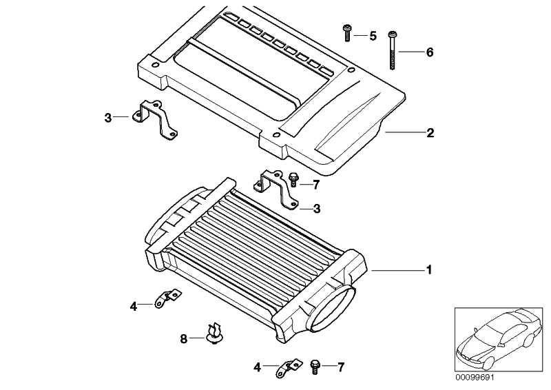 Dichtplatte Ladeluftkühler  MINI  (11651524539)