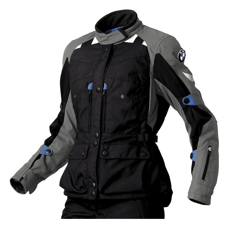 BMW Jacke GS Dry für Damen, anthrazit/schwarz