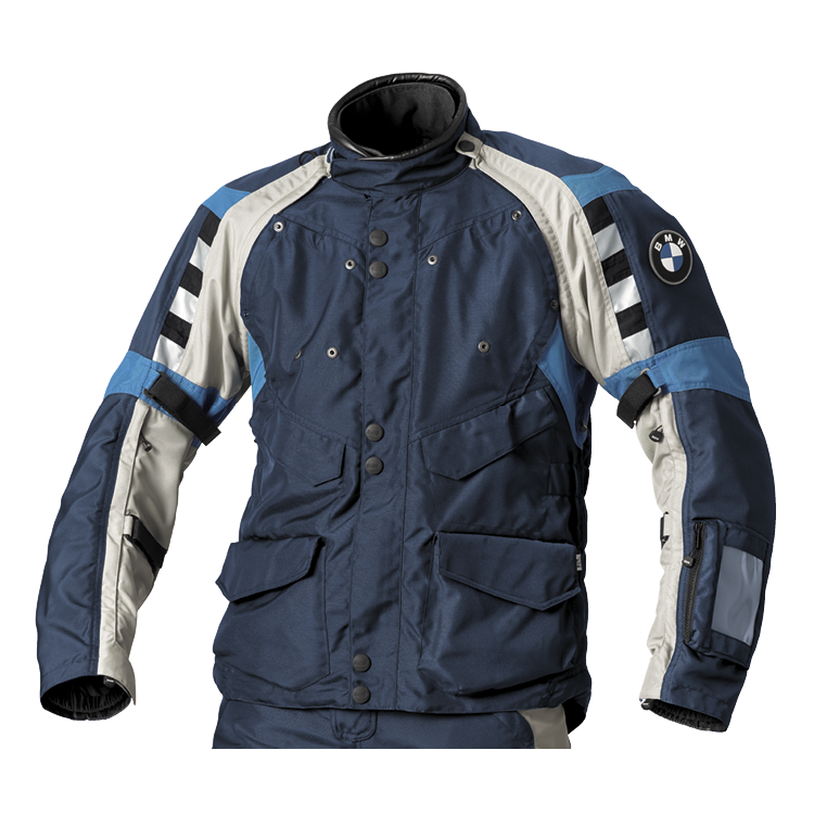 BMW Jacke Rallye für Herren, blau/grau