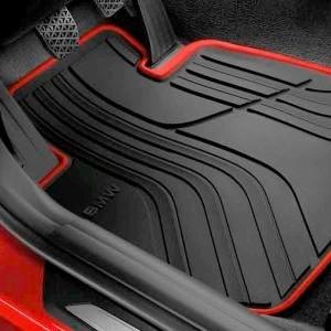 BMW Allwetter Fußmatten schwarz hinten 4er F32 M4 F82