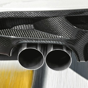 BMW Performance Schalldämpfer-System E90 E91 325i (N52 Automatik, N53)