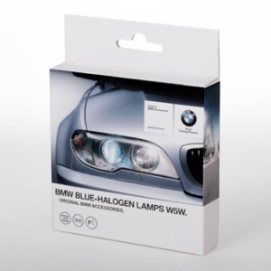 BMW Blue-Halogenlampen W5W