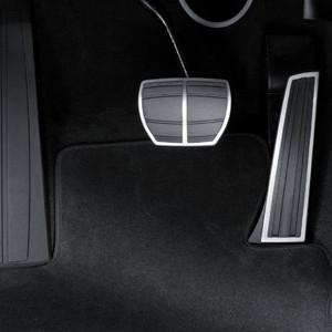 BMW Edelstahlpedalauflagen Automatikgetriebe