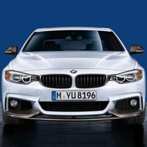BMW M Performance Frontziergitter schwarz 4er F32 F33 F36