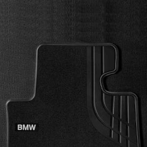 BMW Textilfußmatten vorne mit Trittschutz 4er F32 F33 F36 M4 F83