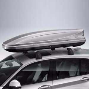 BMW Dachbox 320 titansilber
