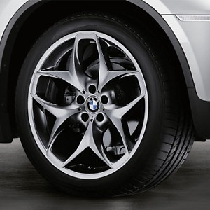 BMW Kompletträder Doppelspeiche 215 ferricgrey 21 Zoll X5 E70 F15 X6 F16
