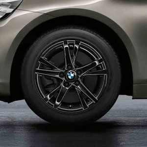 BMW Alufelge Doppelspeiche 473 schwarz 7J x 16 ET 52 Vorderachse / Hinterachse BMW 2er F45 F46