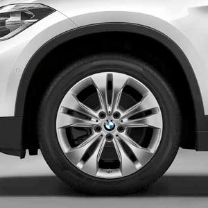 BMW Alufelge Doppelspeiche 567 reflexsilber 7,5 J x 18 ET 51 Vorderachse / Hinterachse X1 F48