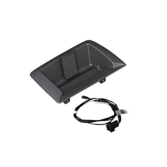 Einbausatz Navigation Portable 1er E81 E82 E87 E88 für Fahrzeuge mit Ablagenpaket