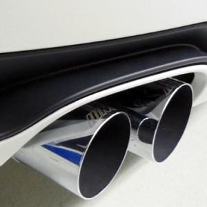 BMW M Performance Endrohrblende Chrom 1er F20 F21