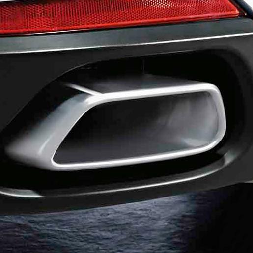 BMW M Performance Endrohrblende Chrom 8 Zylinder Optik für X5 F15 X6 F16 35i