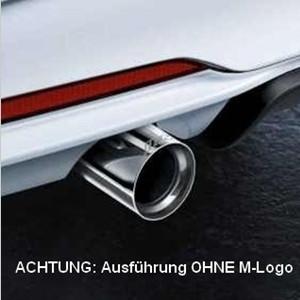 BMW Performance Schalldämpfer-System 1er E82 E88 135i (N54 / N55)