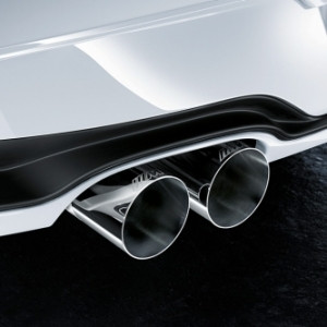 BMW M Performance Schalldämpfer-System 3er F30 F31 328i/iX 4er F32 F33 F36 428i/iX