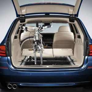 BMW Fahrradhalter Innenraum 5er F11