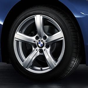 BMW Winterkompletträder Sternspeiche 290 silber 17 Zoll Z4 E89