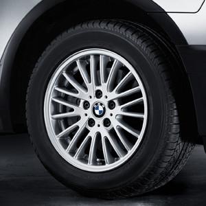 BMW Winterkompletträder V-Speiche 110 silber 17 Zoll X3 E83
