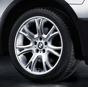 BMW Alufelge M Y-Speiche 191 9J x 19 ET 51 Kamacit-Grau Hinterachse BMW X3 E83