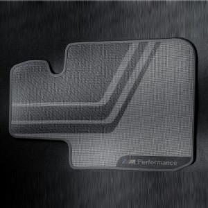 BMW M Performance Fußmatten Satz hinten 3er F30 F31 M3 F80 4er F36