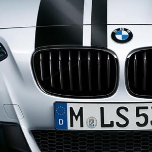BMW M Performance Frontziergitter Schwarz 1er F20 F21