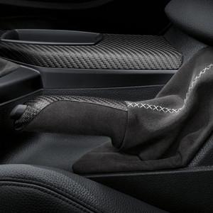 BMW M Performance Handbremsgriff Carbon mit Alcantarabalg, 3er F30 F31 F34GT 4er F32 F33 F36