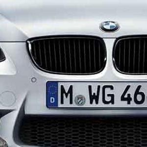 BMW Performance Frontziergitter schwarz 3er E92 E93 ab 03/10