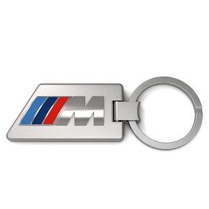 BMW M Schlüsselanhänger Carbon silber/carbon