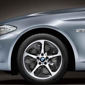 BMW Alufelge Streamline 364 8J x 18 ET 30 Silber Vorderachse / Hinterachse (linke Fahrzeugseite) BMW 5er F10 F11  6er F12 F13